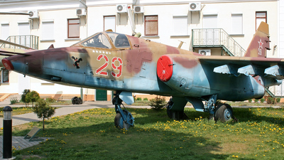 29 - Sukhoi Su-25 Frogfoot - Soviet Union - Air Force