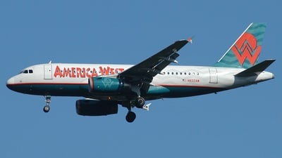 N832AW - Airbus A319-132 - America West Airlines