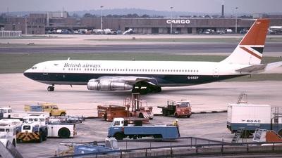 G-ASZF - Boeing 707-336C - British Airways