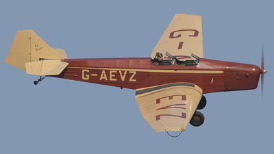 G-AEVZ - British Aircraft Swallow II - Private