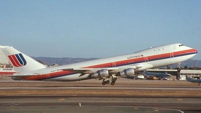 N153UA - Boeing 747-123 - United Airlines
