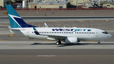 C-FWSY - Boeing 737-7CT - WestJet Airlines
