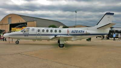 N26494 - Cessna 550 Citation II - United States - US Department Of Homeland Security