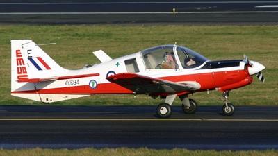 G-CBBS - Scottish Aviation Bulldog T.1 - Private
