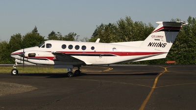 N111NS - Beechcraft 200 Super King Air - Columbia Helicopters
