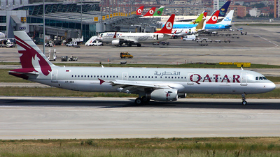 A7-ADZ - Airbus A321-231 - Qatar Airways