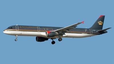 F-OHGU - Airbus A321-211 - Royal Jordanian