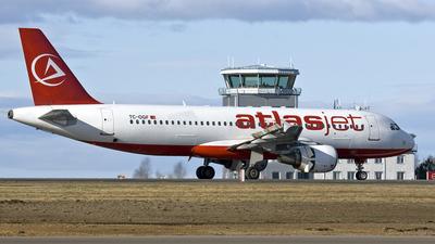 TC-OGF - Airbus A320-214 - AtlasJet