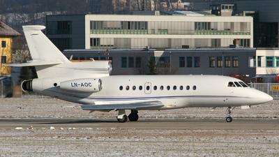 LN-AOC - Dassault Falcon 900EX - Sundt Air