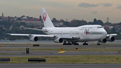JA8173 - Boeing 747-346 - Japan Airlines (JAL)