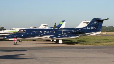 LV-BPL - Gates Learjet 35A - Private