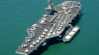 CVN-69 - Aircraft Carrier - Airport Overview