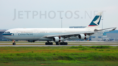 B-HXL - Airbus A340-313X - Cathay Pacific Airways