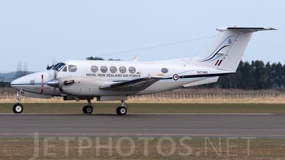 NZ1885 - Beechcraft B200 Super King Air - New Zealand - Royal New Zealand Air Force (RNZAF)