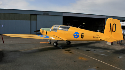 LN-HHS - Saab 91B Safir - Private