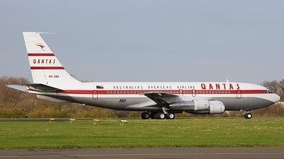 VH-XBA - Boeing 707-138B - Qantas Foundation Memorial