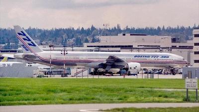 N5014K - Boeing 777-367 - Boeing Company