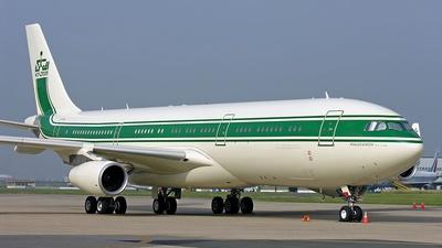 HZ-WBT4 - Airbus A340-213 - Private
