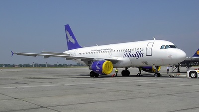 D-AILK - Airbus A319-114 - Khalifa Airways