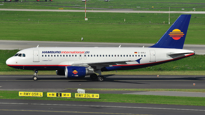 D-AHIJ - Airbus A319-111 - Hamburg International