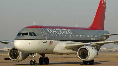 N357NB - Airbus A319-114 - Northwest Airlines