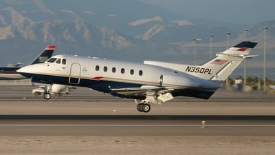 N350PL - Hawker Siddeley HS-125-700A - Private