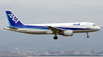 JA8385 - Airbus A320-211 - All Nippon Airways (ANA)