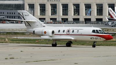 TM.11-1 - Dassault Falcon 20 - Spain - Air Force