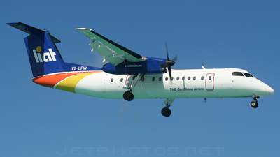 V2-LFW - Bombardier Dash 8-311 - Leeward Islands Air Transport (LIAT)