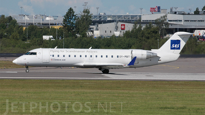 OY-MBT - Bombardier CRJ-200ER - Scandinavian Airlines (Cimber Air)