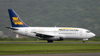 ZS-PIW - Boeing 737-2L9(Adv) - Nationwide Airlines