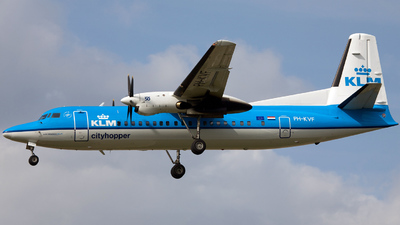 PH-KVF - Fokker 50 - KLM Cityhopper