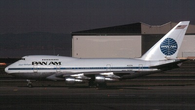 N537PA - Boeing 747SP-21 - Pan Am