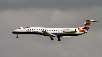 G-EMBT - Embraer ERJ-145EU - British Airways (CitiExpress)