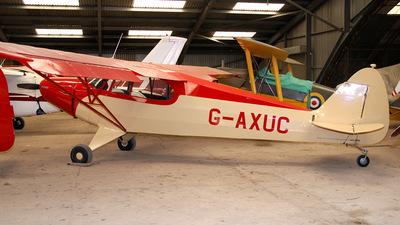 A picture of GAXUC - Piper PA12 Super Cruiser - [12621] - © Brian Whitelegg