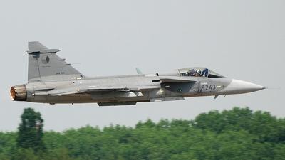 9243 - Saab JAS-39C Gripen - Czech Republic - Air Force