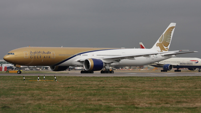 VT-JEG - Boeing 777-35RER - Gulf Air (Jet Airways)