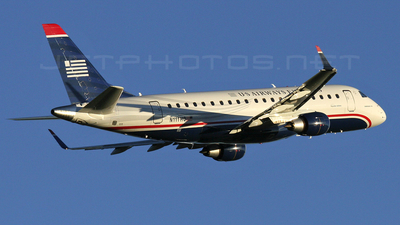 N111HQ - Embraer 170-200LR - US Airways Express (Republic Airlines)