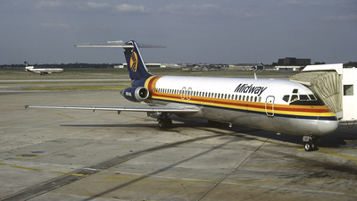 N934ML - McDonnell Douglas DC-9-31 - Midway Airlines
