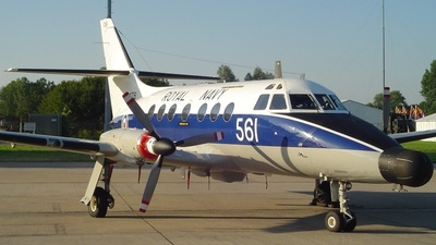 XX476 - British Aerospace Jetstream T.2 - United Kingdom - Royal Navy