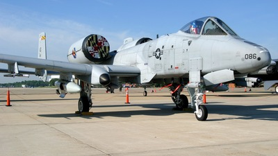 79-0086 - Fairchild A-10A Thunderbolt II - United States - US Air Force (USAF)