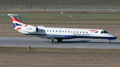 G-EMBU - Embraer ERJ-145EU - British Airways (CitiExpress)