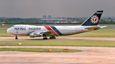 N820FT - Boeing 747-123(SF) - Flying Tigers