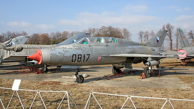 0817 - Mikoyan-Gurevich Mig-21U Mongol A - Czech Republic - Air Force
