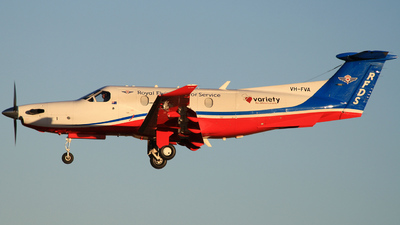 VH-FVA - Pilatus PC-12/47E - Royal Flying Doctor Service of Australia (Central Section)