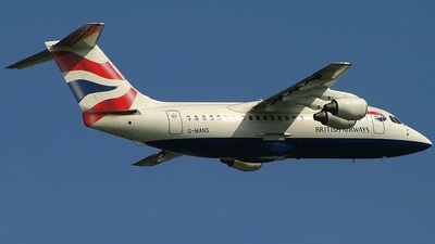 G-MANS - British Aerospace BAe 146-200 - British Airways (CityFlyer Express)