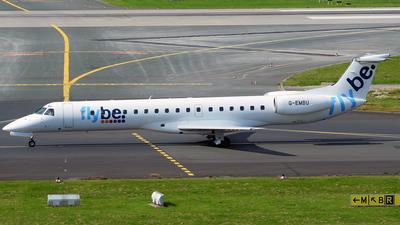 G-EMBU - Embraer ERJ-145EU - Flybe