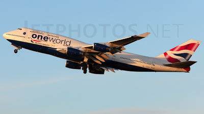 G-CIVZ - Boeing 747-436 - British Airways