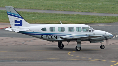 G-YEOM - Piper PA-31-350 Chieftain - Private