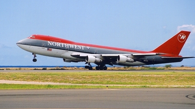 N623US - Boeing 747-251B - Northwest Airlines